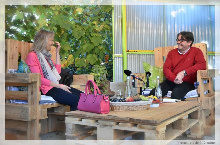 """Interview à visionner de l'émission """"Prenez-en de la graine"""" à la Potagère – St-Pierre-de-Clages – 26.09.2015"""