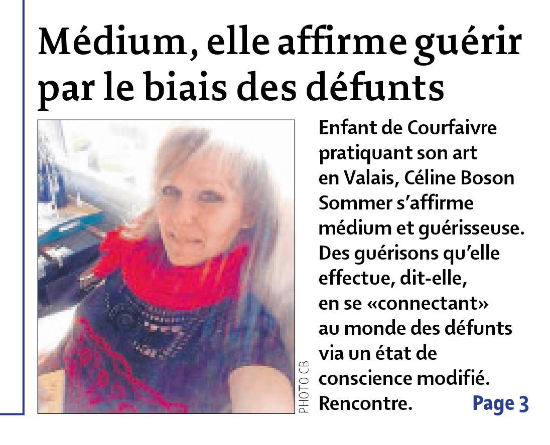 Le Quotidien Jurassien – 7 janvier 2016