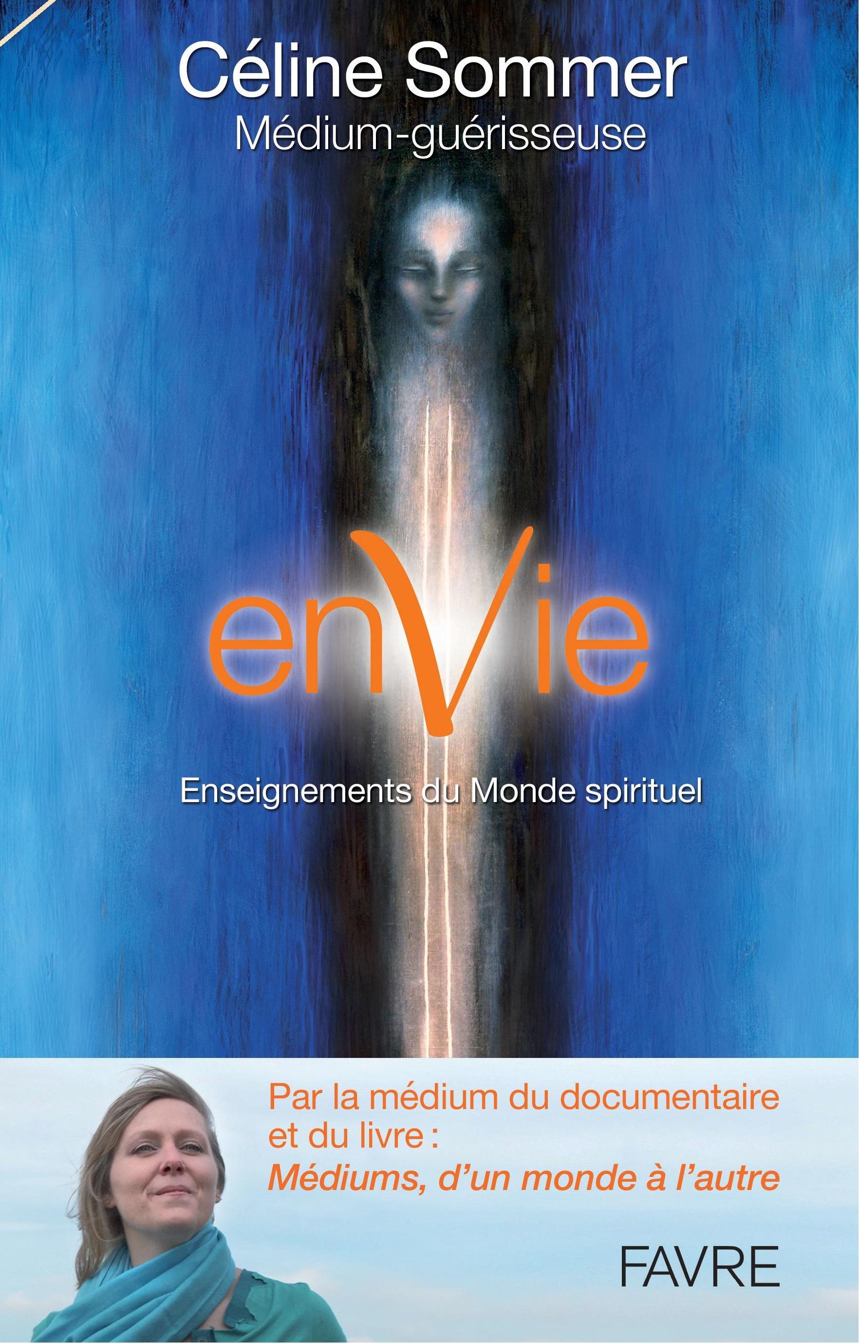 Mercredi 5 décembre 2018 – 20h00 : Invitation au vernissage du nouveau livre de Céline : enVie