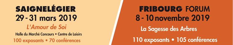 Salon du Mieux-Vivre – Saignelégier (JU) du 29 au 31 mars 2019